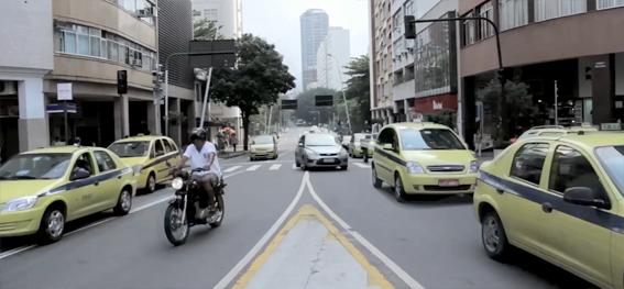 Taxis no Rio de Janeiro